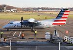American Eagle (Piedmont Airlines) Dash 8-100 aircraft at Tweed-New Haven.jpg