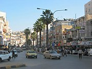 The old downtown of Amman