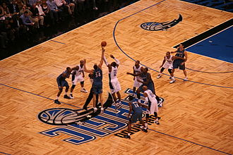 Amway Center - Amway Center's first NBA regular season game tip-off with the Magic hosting the Wizards
