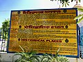 An Information Board at Sirhind Fatehgarh Sahib Punjab India, sanctum where two sons of Guru Gobind Singh were buried alive by Islamic army.jpg
