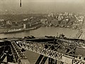 An early view of Sydney from the Harbour Bridge, 1930.jpg