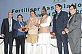 Ananth Kumar presented the awards at the inauguration of the annual seminar of Fertilizer Association of India, in New Delhi. The Minister of State for Chemicals & Fertilizers, Shri Hansraj Gangaram Ahir, the Secretary (1).jpg
