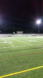 picture of James G. Anderson football field at Marshfield High School