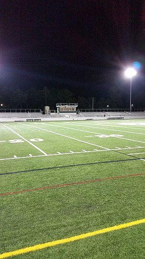 Marshfield High School (Massachusetts) - James G. Anderson football field at MHS