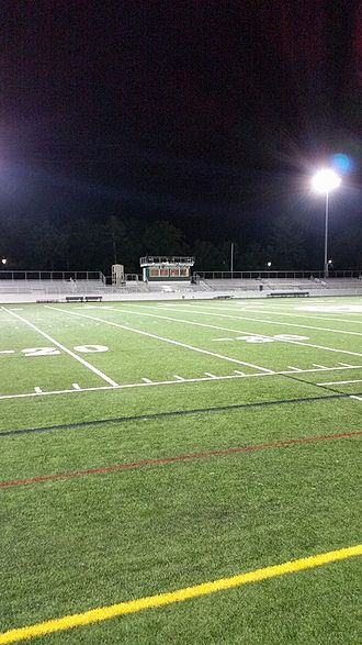 Marshfield High School (Massachusetts) - James G. Anderson football field at MHS