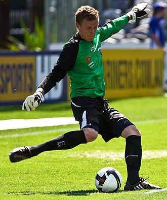 Andrew Redmayne - Redmayne playing for the Central Coast Mariners youth team