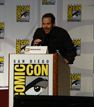 Andy Berman - Berman at the 2010 San Diego Comic-Con International