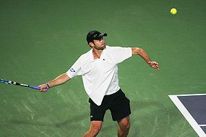 Andy Roddick - Capturing the 26th title of his career in China, 2008