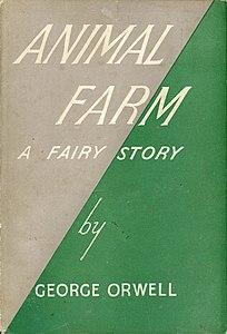 رواية animal farm بالانجليزي