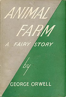 <i>Animal Farm</i> Novel by George Orwell