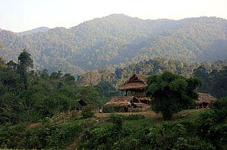 Annamite Range - Annamite Range in Pu Mat National Park, Vietnam