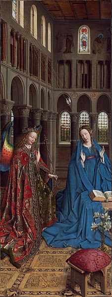 Archivo:Annunciation - Jan van Eyck - 1434 - NG Wash DC.jpg