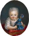 Anonymous Miniaturist - Miniature of Princess Maria Antonia of Bourbon-Parma 2 ONB.png