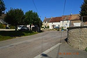Antigny-la-Ville - A street in Antigny-la-Ville