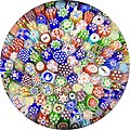 Antique Baccarat Closepack Millefiori Paperweight.jpg