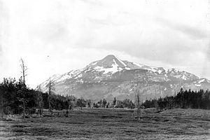 Antler Peak - Image: Antler Peak From Indian Creek 1890