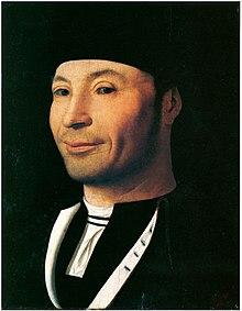 Антонелло да Мессина. «Мужской портрет», музей Чефалу