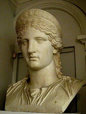 Antonia Minor - The Juno Ludovisi (a portrait of Antonia Minor)