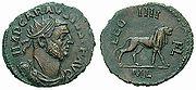 ROMA ANTONINIANUS DEFİNESİ 180px-Antoninianus_Carausius_leg4-RIC_0069v