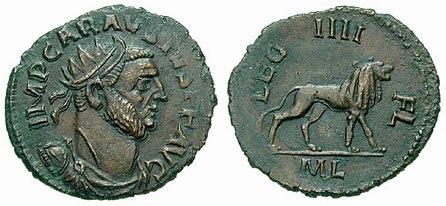 Antoninianus Carausius leg4-RIC 0069v