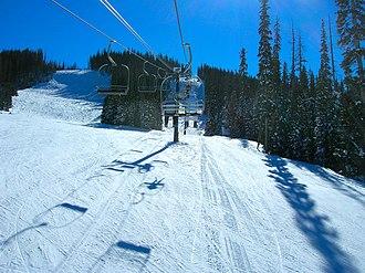 Sunrise Park Resort - Triple chairlift on Apache Peak.