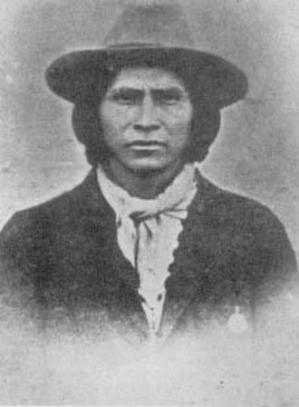 Apache Kid - The Apache Kid as a prisoner in Globe, Arizona