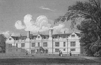 Apethorpe Palace - Apethorpe Hall in 1829