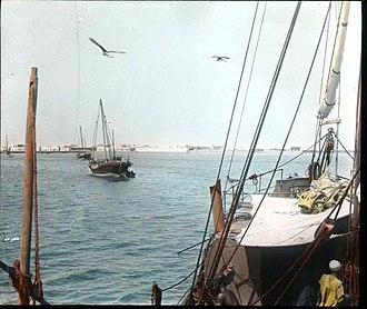 Berbera - Berbera harbour, 1896