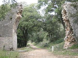 Antibes - Bouillide Aqueduct