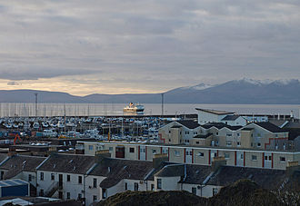 North Ayrshire and Arran (UK Parliament constituency) - A view of Ardrossan