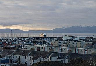 Ardrossan - Image: Ardrossan Scotland