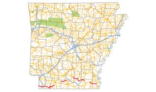 Arkansas Highway 160 highway in Arkansas