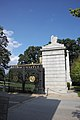 Arlington National Cemetery - looking E at south Schley Gate - 2011.jpg