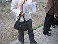 Armenian Presidential Elections 2008 Protest Mar 21 - Myasnikian Square - Armenia SOS.jpg