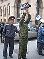 Armenian Presidential Elections 2008 Protest Mar 21 - Northern Ave military police video taping.jpg
