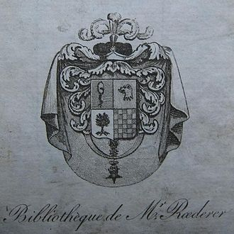 Pierre Louis Roederer - Arms of Roederer