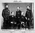 Army surgical staff, Calcutta 1861. Wellcome L0019767.jpg