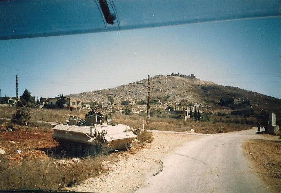 Arnoun convoy 1995 Southern Lebanon