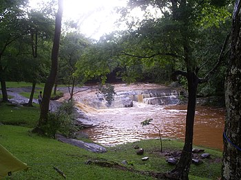 Arroyo en Paraguay