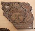 Arte romana, frammento di lastra con gorgoneion, 100-50 ac. ca..JPG