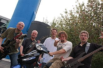 Artillery (band) - The band in 2010