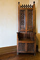 Artisan Carved Wood Chair, Casa Loma, Toronto, Canada.jpg