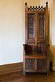 Artisan Carved Wood Chair, Casa Loma, Toronto, Canada.jpg