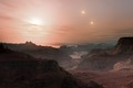 Artist's impression of sunset on the super-Earth world Gliese 667 Cc.tif