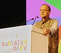 """Arun Jaitley addressing at the Official Closing Ceremony of """"Paryatan Parv – Grand Finale', organised by Mo Tourism in collaboration with other Central Ministries, State Governments and Stakeholders, in New Delhi.jpg"""