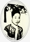As the Empress Consort of Qing Dynasty China.JPG
