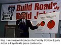 Asa Hutchinson introduces the Priority Corridor Equity Act at a Fayetteville press conference.jpg