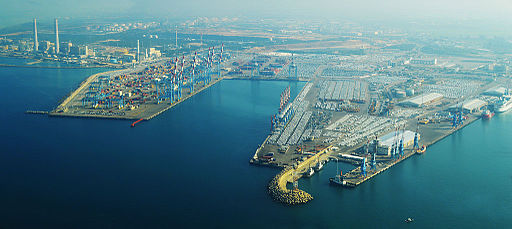 Ashdod Port Aerial View