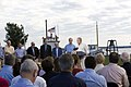 Assignment- 48-DPA-10-20-07 K St Michaels) (Signing ceremony, outside the Chesapeake Bay Maritime Museum in) St. Michaels, Maryland, (for Executive Order protecting and conserving t - DPLA - c186f925d3521f2d135829c98e0bc496.JPG
