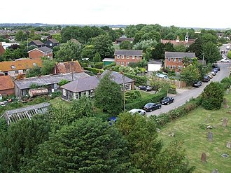 Aston Clinton - Image: Aston Clinton from the church tower geograph.org.uk 199351